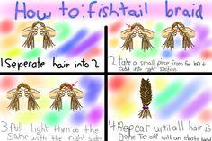 fish plait tutorial - Google Search