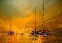 Marine painting IV - Justyna Kopania