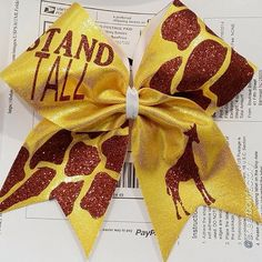 Cheer bow of the day. by @cheerbowfactory Tag #cheerbowoftheday to be featured. #cheerbow #cheerbows #beautiful #cheer #cheerleading #cheerleader #cheerleaders #allstarcheer #camouflage #allstarcheerleading #cheerislife #bows #hairbow #hairbows #giraffe #hairaccessories #bigbows #bigbow #teambows #fabricbows #hairclips #sparkle #instafashion #style #grosgrainribbon #dance#animalprints #instacute#instacheer