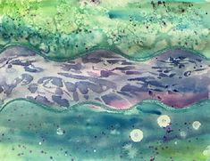 Learn how to do different water colour techniques such as wet on wet, cling wrap, using alcohol as well as splatter to create a beautiful watercolour paintin. Easy Watercolor, Watercolour Painting, Watercolor Techniques, Painting Techniques, Beautiful Paintings, Painting Inspiration, Creative Ideas, Activities For Kids, Art Projects