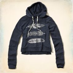 First Jetty Shine Sweatshirt from Hollister Co.