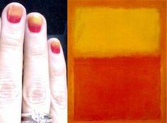 DIY Rothko-Inspired Nails!
