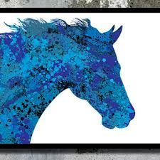 easy canvas horse painting - Google Search