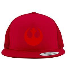 Rebel Alliance Logo Embroidered Trucker Hat