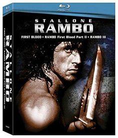 Sylvester Stallone & Richard Crenna - Rambo: Boxed Set (First Blood / Rambo: First Blood Part II / Rambo III )
