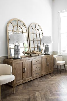 The Bogard Sideboard is bold in proportion and is handcrafted from Acacia wood, its rustic appeal gives it a beautiful and distinctive style. Decor, Dining Room Design, Furniture, Stylish Furniture, Dining Room Table Decor, Dining Room Decor Elegant, Room, Dining Room, Modern Bedroom Furniture
