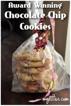 Award Winning Chocolate Chip Cookie Recipe