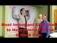 Most Important Exercises to Help Pinched Nerve & Neck Pain. - YouTube