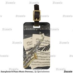 Saxophone & Piano Music Personalized