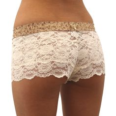 Blushing+Rose+/+Blush+Lace+Boxers+-+The+90%+Nylon+and+10%+Spandex+lace+is+ultra+soft+and+hugs+the+body.+The+FOXER+top+is+made+from+100%+cotton.    Just bought these!:)