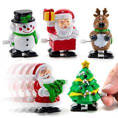Racing Santa/'s Christmas Wind Up Noël Stocking Filler Secret Santa