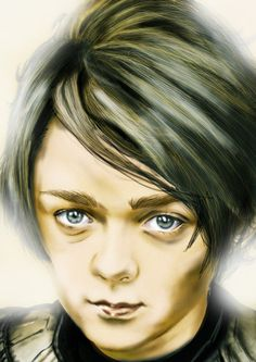 Game Of Thrones Arya Stark [Maisie Williams] Yue by masteryue.deviantart.com on @deviantART