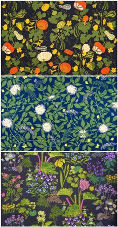 Jobs Handtryck hand-printed textiles