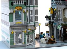 LEGO Ideas - Modular Pedestrian Street SUPPORT THIS PROJECT! #ideas #lego #modular #pedestrian #street #modular building #furniture #minifigures #jewelry #tiffany https://ideas.lego.com/projects/152944