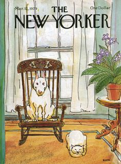 The New Yorker - Monday, March 12, 1979 - Issue # 2821 - Vol. 55 - N° 4 - Cover by : George Booth