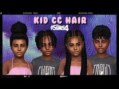 Sims 4 Cas, Sims Cc, Sims 4 Black Hair, The Sims 4 Packs, Sims 4 Cc Shoes, Sims 4 Clothing, The Sims4, Sims 4 Custom Content, 4 Kids
