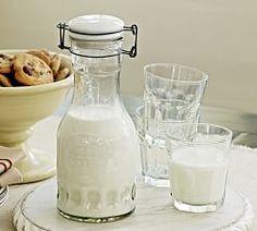Glass Milk Carafe Kitchen Organizers, Kitchen Racks & Pantry Organizers | Pottery Barn