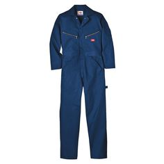Long Sleeve Coveralls, Cotton, Navy, M -- Read more reviews of the product by visiting the link on the image.