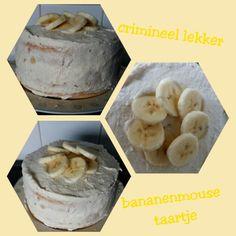 Bananenmouse taartje