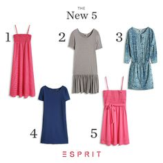 #Summer is coming and we can't get enough of our airy and #colorful dresses. Which style is your favorite?