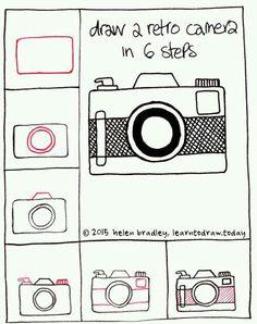 Draw a camera