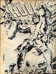 Cap'n's Comics: The Hulk by Jim Steranko