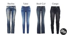 Te preguntas.. que jeans te quedaría mejor según tu figura? ve este post en el blog de tu asesora de imagen www.tuguiafashion.com