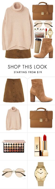 """(6)"" by kidrauhlftbizzle ❤ liked on Polyvore featuring Sam Edelman, MANGO, Louis Vuitton, Yves Saint Laurent, The Row, River Island and Kate Spade"