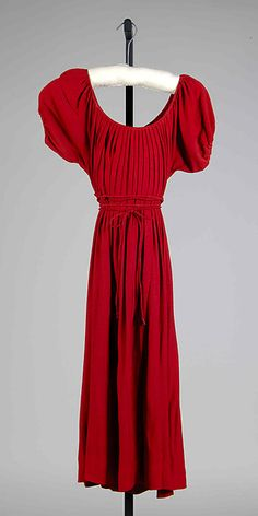1945. Claire McCardell | Dress | American | The Met