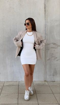 Winter Fashion Outfits, Suit Fashion, Fall Outfits, Autumn Fashion, Cute Casual Outfits, Stylish Outfits, Casual Dresses, Look Legging, Looks Chic