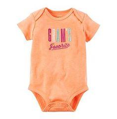 Carter's® Baby Girls' Grams Favorite Bodysuit