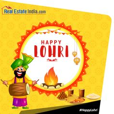 May the #Lohri fire burn all the moments of sadness & bring you warmth of Joy, Happiness & Love. #HappyLohri from #RealEstateIndia #LohriFestival #LohriSpecial #Lohri2017