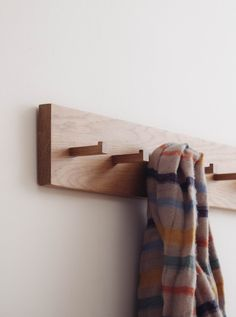 Dot. Dot. Dash. The Morse Coat Rack keeps in sync with the rhythm of your life. Hang your hat, drape your coat, and drop your keys. Everything is in its place, so you're always ready to grab, grab, go