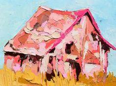 Kate Mullin - Pink Barn