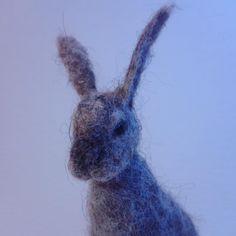 Заячья голова  #needlefelting #felt #feltedhare #hare #gift #toys #europeanhare #lepuseuropaeus #wool #wooltoys #handmade #feltedtoy #валяние #сухоеваляние #фелтинг #заяц #заячьяголова #валяныйзаяц #игрушкаизшерсти #ручнаяработа #frankenfelt