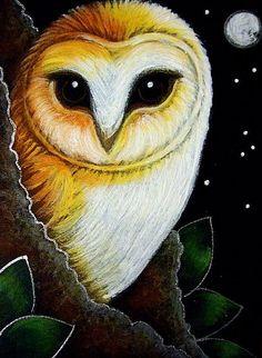 Google Image Result for http://www.ebsqart.com/Art/Gallery/Media-Style/708417/650/650/BARN-OWL-NEW-LEAVES-FULLMOON-amp-STARS.jpg