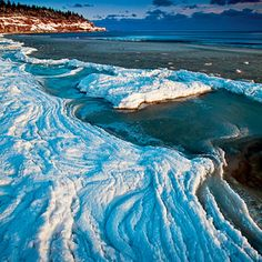 Winter Wonderland. Ice lines the shore of Cape Turner in Prince Edward Island National Park.