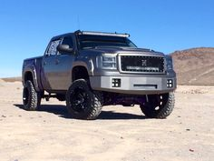 Project Steel Gray In Honor Of Alzheimer's Awareness  SEMA2014: Hostile Wheels Featured Truck