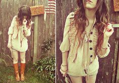The Hound & the Hunt (by Ashlei Louise) http://lookbook.nu/look/2567325-The-Hound-the-Hunt