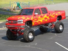 Chevrolet Monster truck