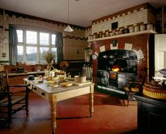The Kitchen at Wightwick Manor, Wolverhampton, West Midlands | National Trust Images