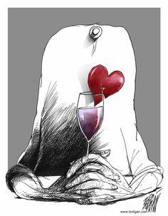 Caricatures sociales de Angel Boligan