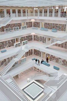 Libreria Stuttgart Germania architettura design Libreria Stuttgart Germania architettura #design #architecture #shhare