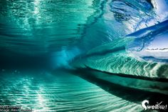 Inside a Wave..such a cool picture!