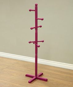 Look at this Purple Coat Rack on #zulily today!