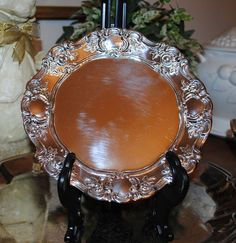 Vintage Towle Old Master Embossed Silver Plate by TheBouncingFrogs