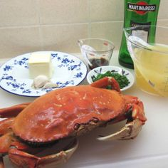 Crab Vermouth for 2 Cooking For Two, Oven, Friday, Favorite Recipes, Dishes, Easy, Food, Tablewares, Essen