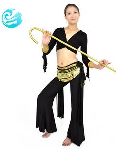 No Waist Chain H.eternal Girls Belly Dance Costume Children Performance Dress Outfit Shiny Top Pants Princess Dress Up for Party