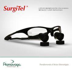 Lupas de magnificación con lente incrustado Marca; Surgitel