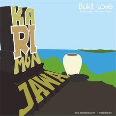 Objek Wisata Bukit Love Karimunjawa